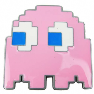 Pac-Man 'Pinky Ghost' Belt Buckle